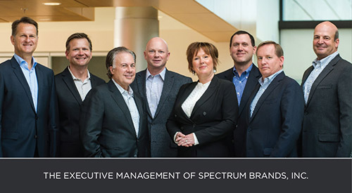 The Executive Management of Spectrum Brands, Inc.